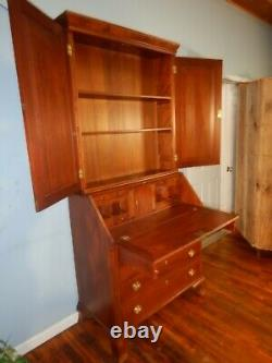 1780s Chippendale Secretary Desk 11 Drawer fitted interior withHidden Compartment