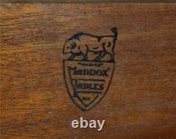 18692 Mahogany Governor Winthrop Ball and Claw Secretary Desk