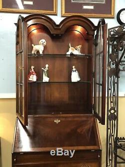 1970s Secretary Bookcase Hickory Chair Company Historical James River Collection