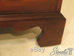 26564E SAYBOLT CLELAND 2 Piece Mahogany Secretary Desk