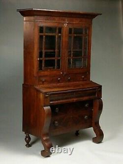 2-part Mahogany Antique Secretary Desk