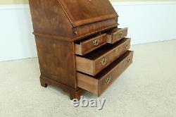 31398EC HENREDON Aston Court Collection Walnut Secretary Desk