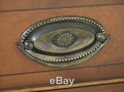 31536EC BEVAN FUNNELL English Mahogany Secretary Desk Bookcase