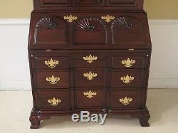 47975EC KINDEL Winterthur Collection Mahogany Updyke Secretary Desk