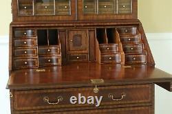 51317EC MAITLAND SMITH Georgian Style Mahogany Secretary Desk