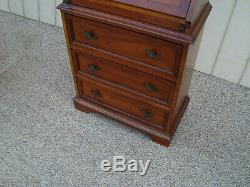 60374 SANFORD Furniture Secretary Desk with Bookcase Top