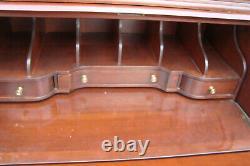 61069 Ethan Allen Secretary Desk with Bookcase Top