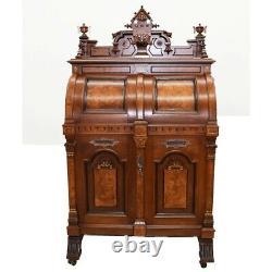 #7349 Renaissance Revival Wooton Extra Grade Patent Secretary Desk