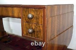 #7863 Art Deco Louis Majorelle Palisander Desk and Chair C. 1910