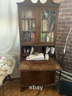 Antique Desk Hutch / Bookshelf Secretary