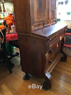 Antique Empire Secretary Desk