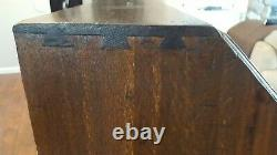Antique Georgian Style Slant Front Desk 4 Drawers Lots of Compartments