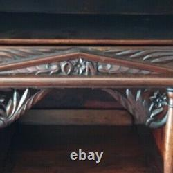 Antique Mahogany Drop Front Desk, C. 1850s Great condition 83 H x 45 W x 20 D