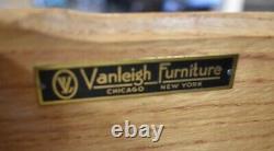 Antique Mahogany Drop Front Desk, Secretary by VanLeigh Furniture