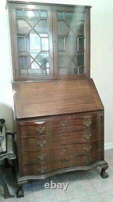 Antique Mahogany Secretary Desk