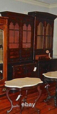 Antique Mahogany Secretary Desk Federal Style 1800's (Cat. # 55)