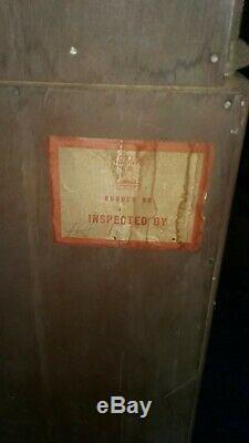 Antique Mahogany Secretary Desk with Bookcase Top