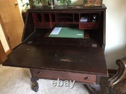Antique Mahogony Secretary Desk which is over 100 years old