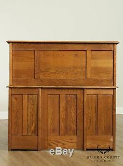 Antique Oak S Roll Top Desk