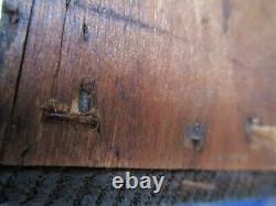 Antique Plantation Secretary Desk with square nails Primitive two piece