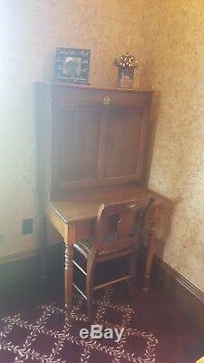 Antique Secretary's Desk and Cabinet