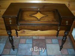 Antique Secretarys Spinet Style Slant Center Desk Grand Rapids Chair Company