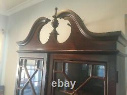 Antique Victorian Secretary Desk Bookcase
