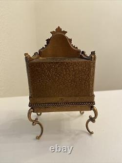 Antique doll Viennese Austrian Enamel Miniature Secretary desk Vanity Choice