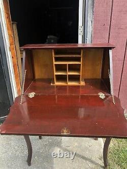 Antique vintage secretary desk