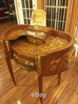 Beautiful French Handmade Secretary Desk CHARLOTTE NC PICKUP ONLY Antique Louis