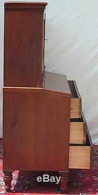 Ca. 1800 Federal Period Slant LID Antique Secretary Desk New Hampshire