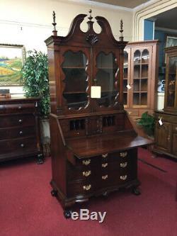 Colonial Furniture Mahogany Secretary Desk Reproduction Secretary Desk Deliv