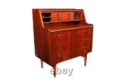 Danish Mid Century Modern Secretary Desk Dresser