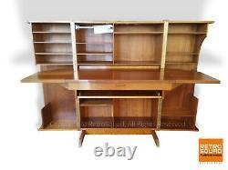 Danish Modern Mummenthaler Meier Magic Box folding Teak Desk Compact Secretary