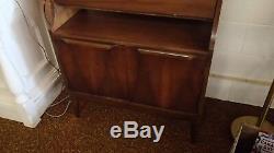 Danish Modern Secretary Desk Bookcase Credenza Vintage Mid Century
