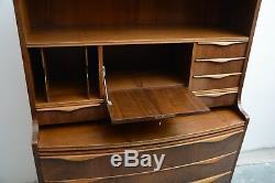 Erling Torvits. Danish mid century modern secretary. Vintage desk from 1960