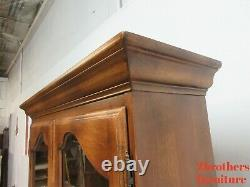 Ethan Allen French Country Drop Front Ladies Writing Secretary Desk Hutch