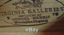 Henkel Harris Secretary Desk Mahogany Bookcase