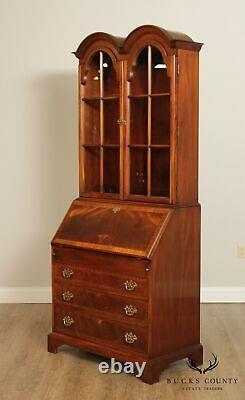 Hickory Chair George III Style Mahogany Secretary Desk