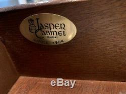 Jasper Cabinet Co. Mahogany Drop Front Secretary Desk