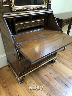 Karges Model 873 Chippendale Secretary Desk