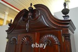 Kindel Winterthur Mahogany Secretary Desk