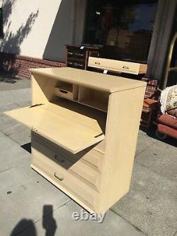 Mid Century Modern Kroehler Secretary Desk Dresser