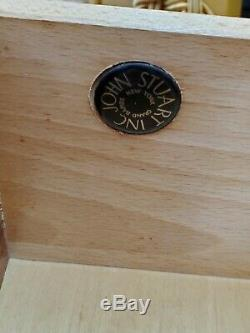 Midcentury JOHN STUART drop front bookcase secretary desk MCM Danish Modern