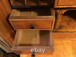 Rare Biedermeier Antique Secretary Desk Circa 1815- 1848