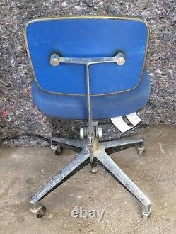 Rare Knoll Secretary Exec Office Desk Chair MCM 1956 Eames Paul McCobb Era