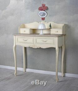 Secretary Desk Make-Up Table Shabby Chic Country Style Console Table Antique
