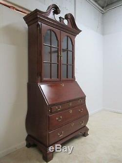 Thomasville Bombay Cherry Drop Front Secretary Writing Desk