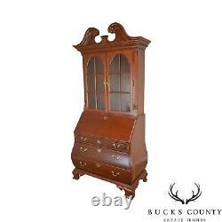 Thomasville Collectors Cherry Bombe Chippendale Secretary Desk