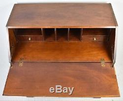 Thomasville The Mahogany Collection Chippendale Style Secretary Desk w. Inlays